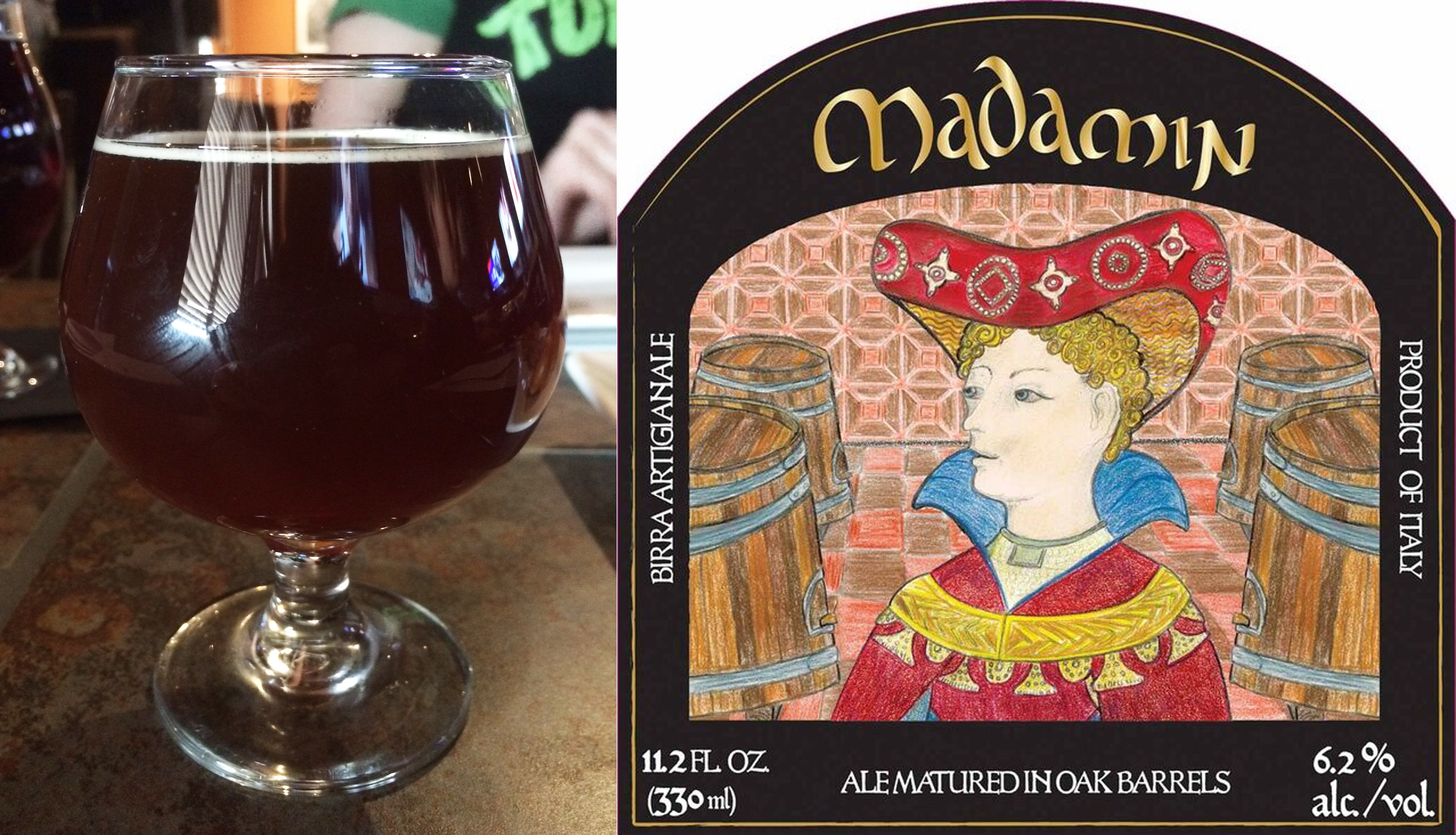 Review: LoverBeer Madamin Sour Amber Ale