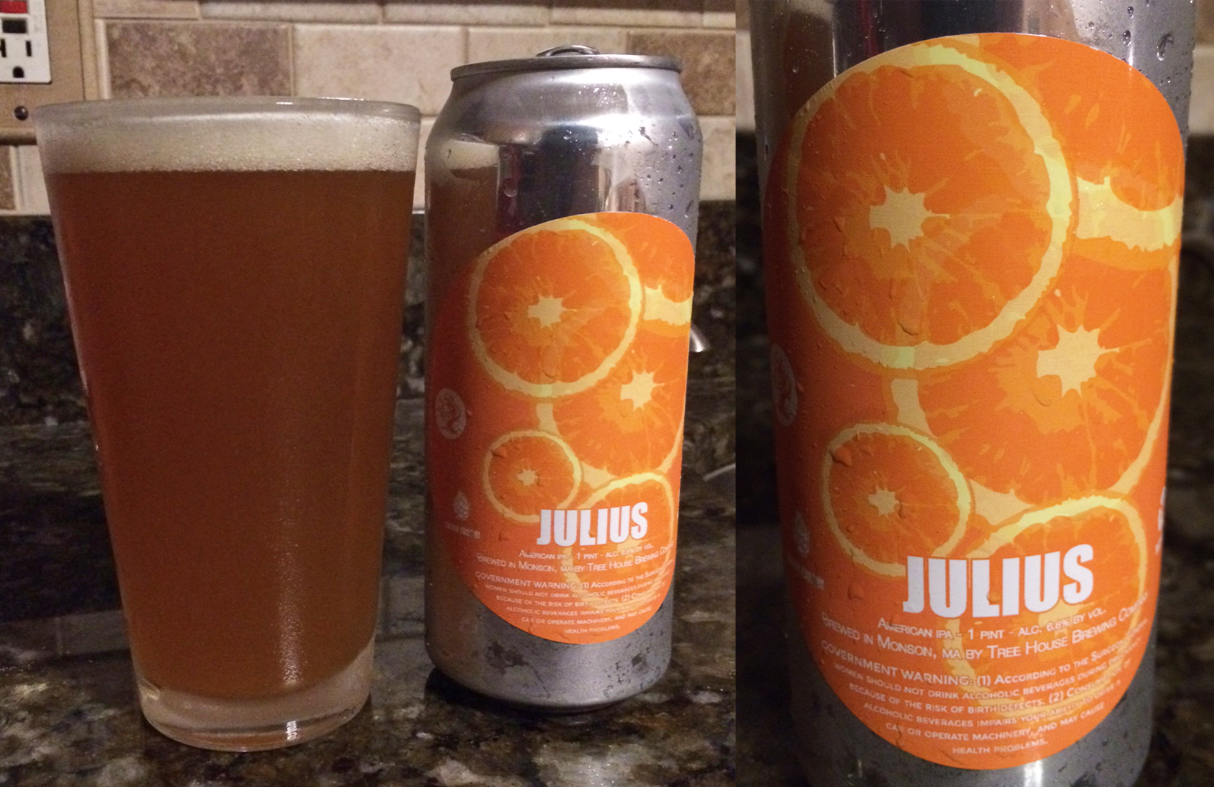 Treehouse Brewing Part - 34: Review: Tree House Julius IPA