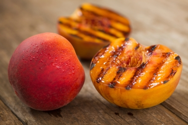 smoked peach